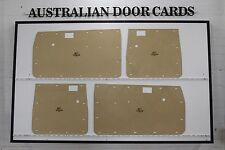 Toyota Hilux Full Height Twin Cab Door Cards. Blank Trim Panels. Aug 83 - Aug 88