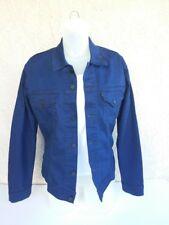 Levi Strauss Jean Jacket New Womens Dark Blue Button Up Jacket Long Sleeve M