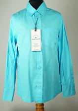 Tom Tailor Hemd Bluse Langarm Mädchen Kinder blau  Größe 152  Neu