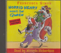 Horrid Henry Meets The Queen Francesca Simon CD Audio Book Unabridged FASTPOST