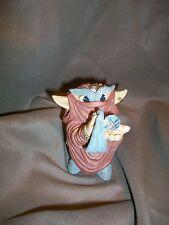 Krystonia Shigger Figurine Made In England Wizard Mystical Fantasy Crystal Troll
