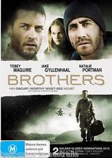 Brothers DVD BRAND NEW SEALED WAR BEST ACTION ADVENTURE FILM Jake Gyllenhaal R4