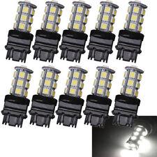 10x White 3157 18SMD 5050 Reverse Brake/Stop/Turn Tail Back Up LED Light Bulbs