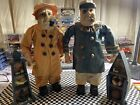 Vintage Old Sea Captain and First mate both are 12 inch tall