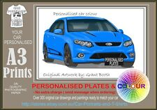 2008-11 FG FPV FALCON A3 ORIGINAL PERSONALISED PRINT POSTER CLASSIC RETRO CAR