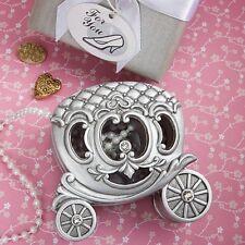 Fairy Tale Pumpkin Trinket Box Wedding Bridal Shower Party Gift Favors