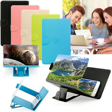 Amplificador Lupa de Pantalla HD soporte Plegable Estuche Apple iPhone Samsung HTC