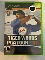 TIGER WOODS PGA TOUR 07 - XBOX - COMPLETE W/ MANUAL - FREE S/H - (T8)