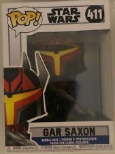 Star Wars Clone Wars Gar Saxon Funko Pop! Vinyl Figure #411 in hand ships fast