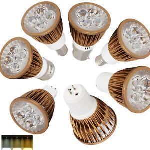 9W 15W Dimmable LED Spotlight Bulbs GU10 MR16 E27 E14 GU5.3 220V DC 12V Lamp RE