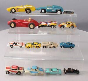 Marx & Unknown Vintage Slot Cars - Various Scales