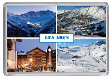 Les Arcs, Ski resort France Fridge Magnet