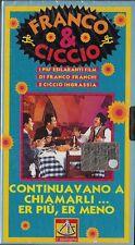 FRANCO E CICCIO - CONTINUAVANO A CHIAMARLI ER PIU', ERMENO (1972) VHS