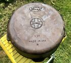 Rare Griswold & Wagner Marked Cast Iron No. 8  Dutch Oven