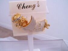 Flying Angel Motion Pin, By Cheng'S , White, Wings Has Motion, New