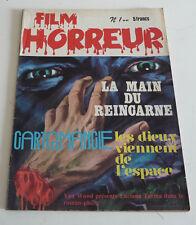 Mag BD Horreur SF Roman PHOTO  FILM HORREUR  N° 1      sep21