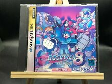 megaman 8 (Rockman 8 ~Metal Heroes~)(sega saturn,1997) from japan
