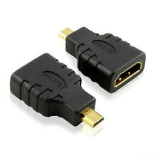 Micro HDMI Male D Type to HDMI Female Converter Adapter For Microsoft Surface RT