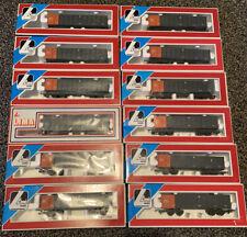 More details for pta/jta jua lima 305664 open bogie wagon orange/grey x 11 & 1 x 305663w & loads
