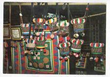 COMTE / CACAO (GUYANE FRANCAISE) Village HMONG / ARTISANAT Tapis & Sacs