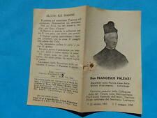 IMAGE PIEUSE RELIQUE RELIC DON FRANCESCO PALEARI TORINO DIVINE PROVIDENCE r2