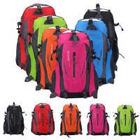 40L Climbing Camping Hiking Bag Rucksack Backpack Travel Shoulder Sport Outdoor