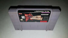 Metal Warriors Super Nintendo SNES * AUTHENTIC * Tested & Working, Pins Polished
