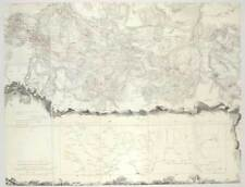Lubań-Lauban-Polen-Schlesien 7 jährig. Krieg-Karte 1805