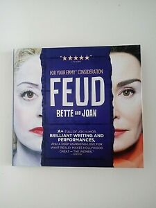 2017 FEUD Bette And Joan DVD promo screener FX Rare Emmy FYC 1 DVD 3 Episodes