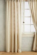 Anthropologie Ricci Curtain- 50 x 63