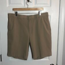 "Walter Hagen Tan P11 Men's Golf Shorts 10"" Inseam, Size 38"