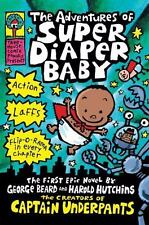 The Adventures of Super Diaper Baby by Dav Pilkey (2002, Hardcover)