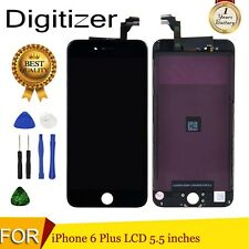 """Black For iPhone 6 Plus 5.5"""" Screen LCD Display Touch Digitizer Replacement UK"""