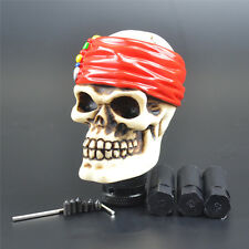Universal Shift Knob For Car Truck Manual Gear Lever Shifter Skull Pirate Style