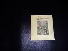 Saat Samen Saatgut Große Kapuzinerkresse Heilpflanze Blumen Garten