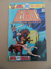 Beowulf 4 . Dracula Cover / Story . DC 1975 . VG