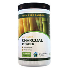 Bamboo Activated Charcoal Powder 12 oz Charcoal House - 100% Pure Bamboo