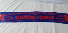 Echarpe Football OLYMPIQUE LYONNAIS - COUPE U.E.F.A. 95/96