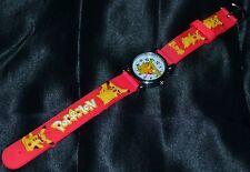 Neon Pink Hot Pikachu Pokemon Go Wristwatch Wrist Watches Watch Kids & Teens