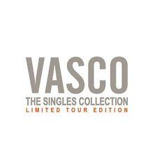 """VASCO ROSSI """"THE SINGLES COLLECTION"""" RARO BOX 10 CDsingoli LIMITED ED -SIGILLATO"""