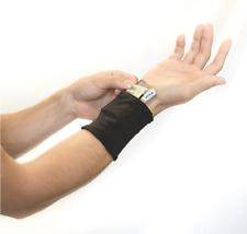 New listing Sprigs Wrist Wallet, Classic, Black, Beige Interior
