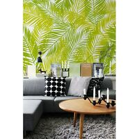 Green Leaves peel and stick removable wallpaper self adhesive wall home decor