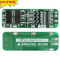 3S 20A 12.6V Cell 18650 Li-ion Lithium Battery Charger PCB BMS Protection -HOT