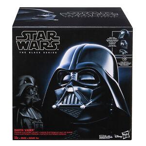 Star Wars The Black Series Darth Vader Premium Electronic Helmet—NEW