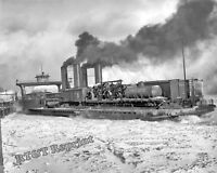 Photograph of the Train Transfer Steamship The Detroit Year 1905 8x10
