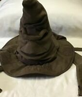 HARRY POTTER Animated Talking Sorting Hat Wizard