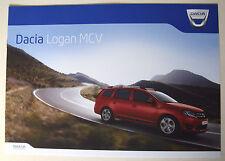 Dacia . Logan MCV . April 2014 Sales Brochure