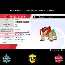 Terrakion   Ultra Shiny   6IV   Pokemon Sword & Shield