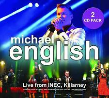 MICHAEL ENGLISH Live From INEC, Killarney 2 CD (July 6th 2018)