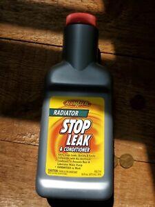 NiP / Alumaseal / Radiator Stop Leak & Conditinoer/ 16 Oz. / ASLC16